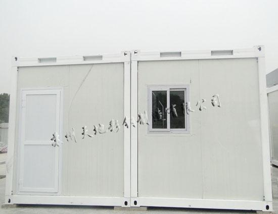 百度找到我们,致电业务唐经理说要采购一批 集装箱房屋用来做值班室用